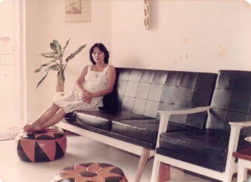 Mom sofa
